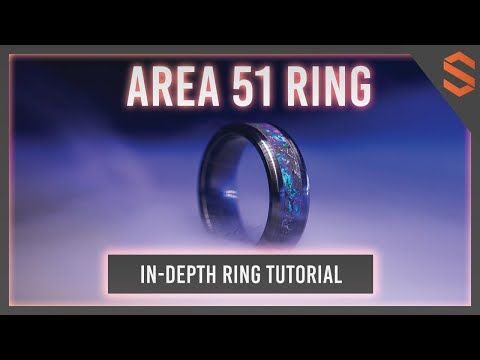 How to Make the Area 51 Ring (In-Depth DIY Tutorial)