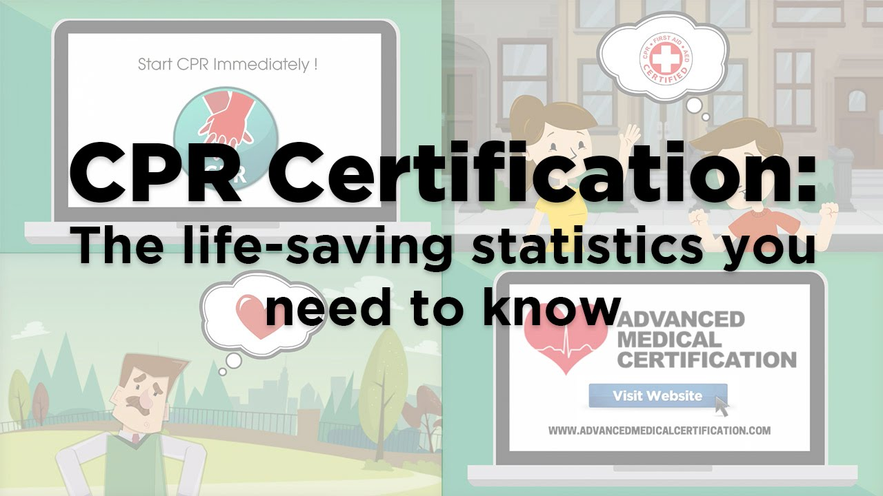 Cpr certification the life saving statistics you need to know cpr certification the life saving statistics you need to know youtube xflitez Images