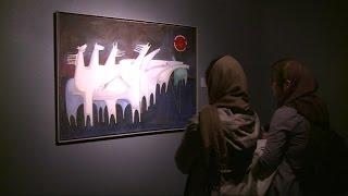 أخبار فنية -معرض للفن التشكيلي العربي في طهرانبعنوان