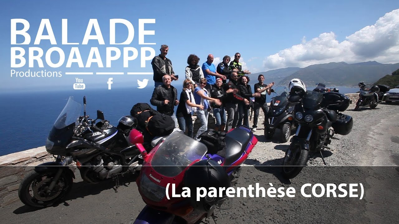 broaapppbalade entre motards et copains balade moto en corse youtube. Black Bedroom Furniture Sets. Home Design Ideas
