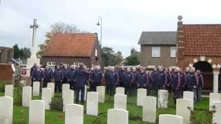 Llef - Deus Salutis - Acapella - London Welsh Rugby Choir