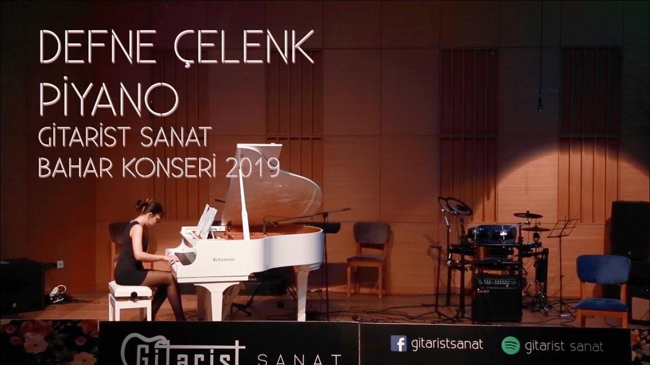 Gitarist Sanat Bahar Konseri 2019 / Defne Çelenk - Piyano