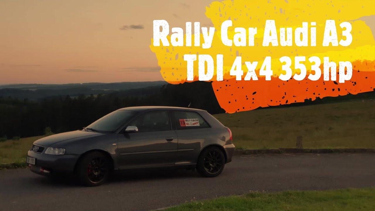 PROJECT CAR RALLY AUDI A3 TDI 4X4 353HP @ TEST 2020 |VORY TDI