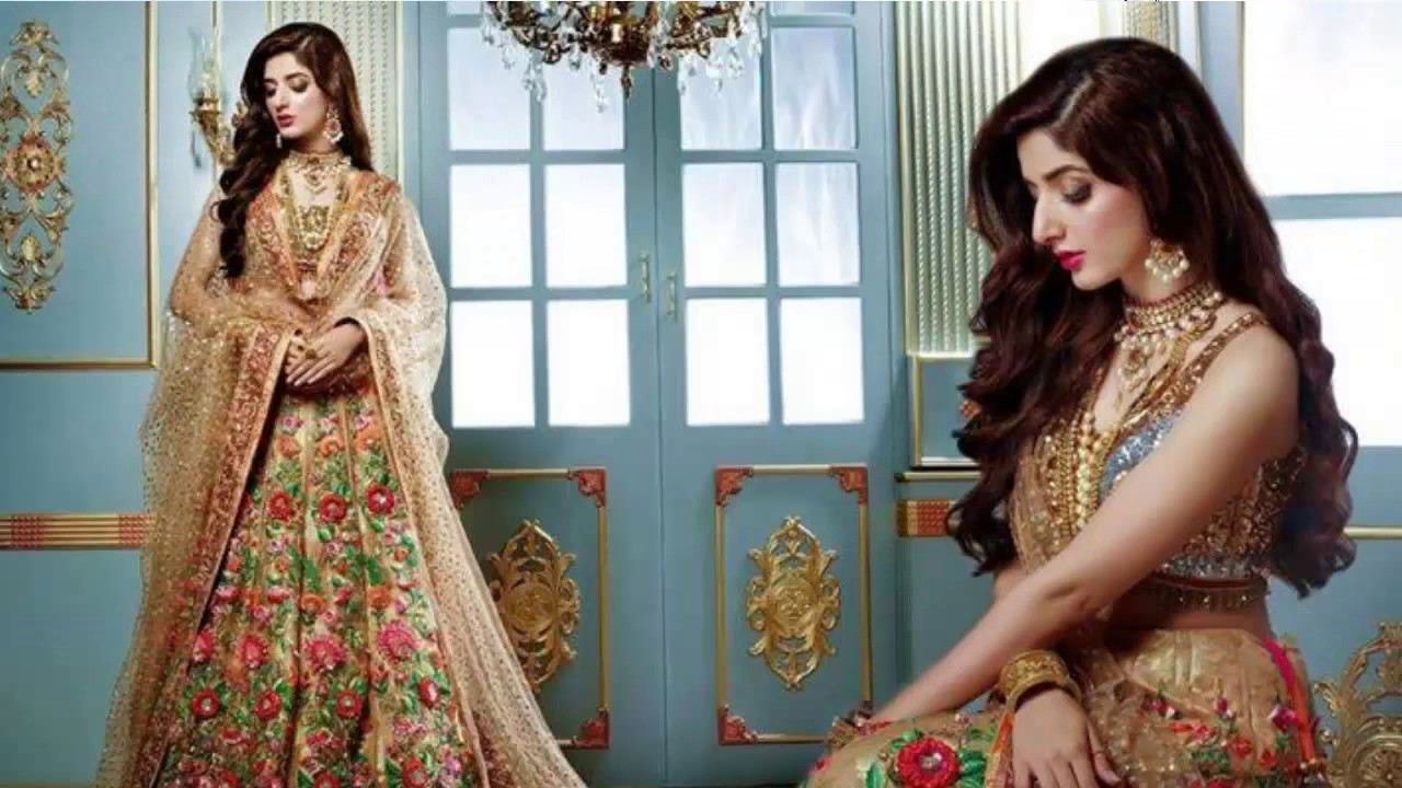 3e1a13c3d8 Latest Pakistani Dresses and Frocks 2017 for Wedding - YouTube