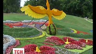 видео купити український вінок з квітів  у Києві