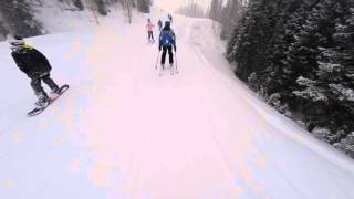 Ski Runs at Aspen Snowmass January 24, 2016