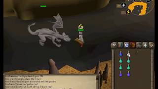 [OSRS] How to get to IRON DRAGONS, Slayer Cave