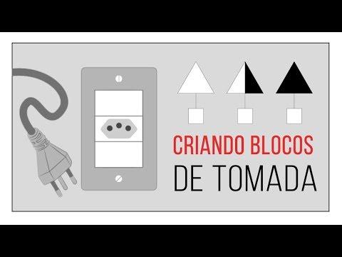 CRIANDO BLOCOS DE TOMADA NO AUTOCAD COM DICAS PARA FACILITAR A LISTA DE MATERIAIS | FAM CURSOS