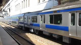 JR東日本E531系K401編成郡山出場試運転新白河駅通過!