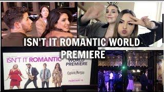 ISN'T IT ROMANTIC WORLD PREMIERE & SEEING NICK JONAS AND PRIYANKA CHOPRA!
