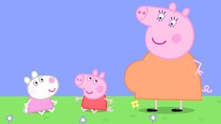 Peppa Pig English Episodes - Baby Peppa Pig and Baby Suzy Sheep! - #082