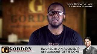 Baton Rouge Car Wreck | Real Client - Jerome Learson | Gordon McKernan Injury Attorneys