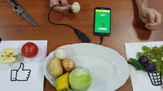 Nitrattest - portable device for your health