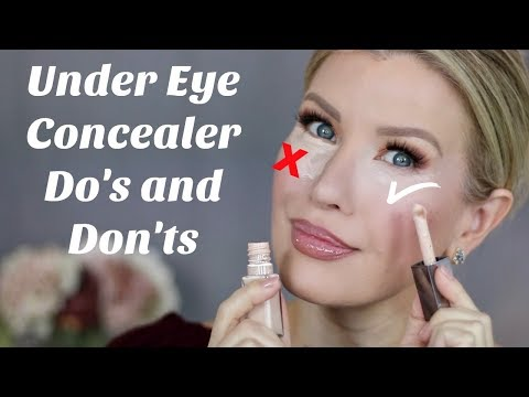OVER 40?!! 9 CONCEALER TIPS | Do's And Don'ts For Mature Under Eyes With Wrinkles And Dryness