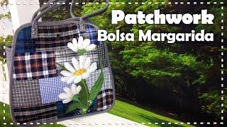 BOLSA MARGARIDAS com Ataíde Depizzol