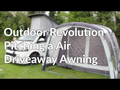 How To and Guide to Pitching a Air Driveaway Awning