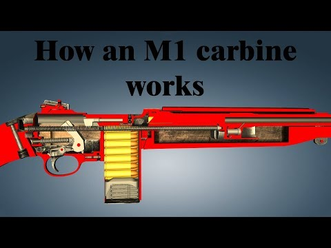 How an M1 carbine works