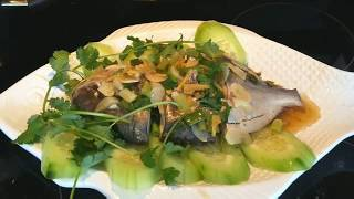 Steamed Fish With Garlic and Ginger
