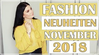 FASHION NEUHEITEN IM NOVEMBER 2018 / H&M, SHEIN, PURELEI HAUL