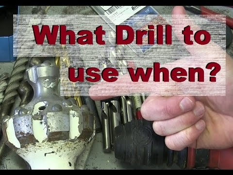 WHAT DRILL BIT IS BEST DRILL?
