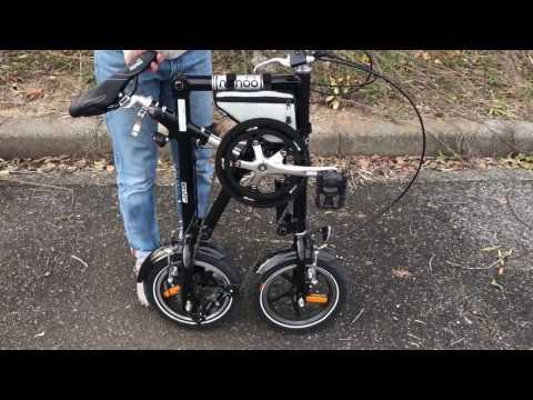 NANOO BIKE FD-1207 超コンパクトで簡単瞬時組立 ナノー 折りたたみ自転車 ミニベロ Mp3