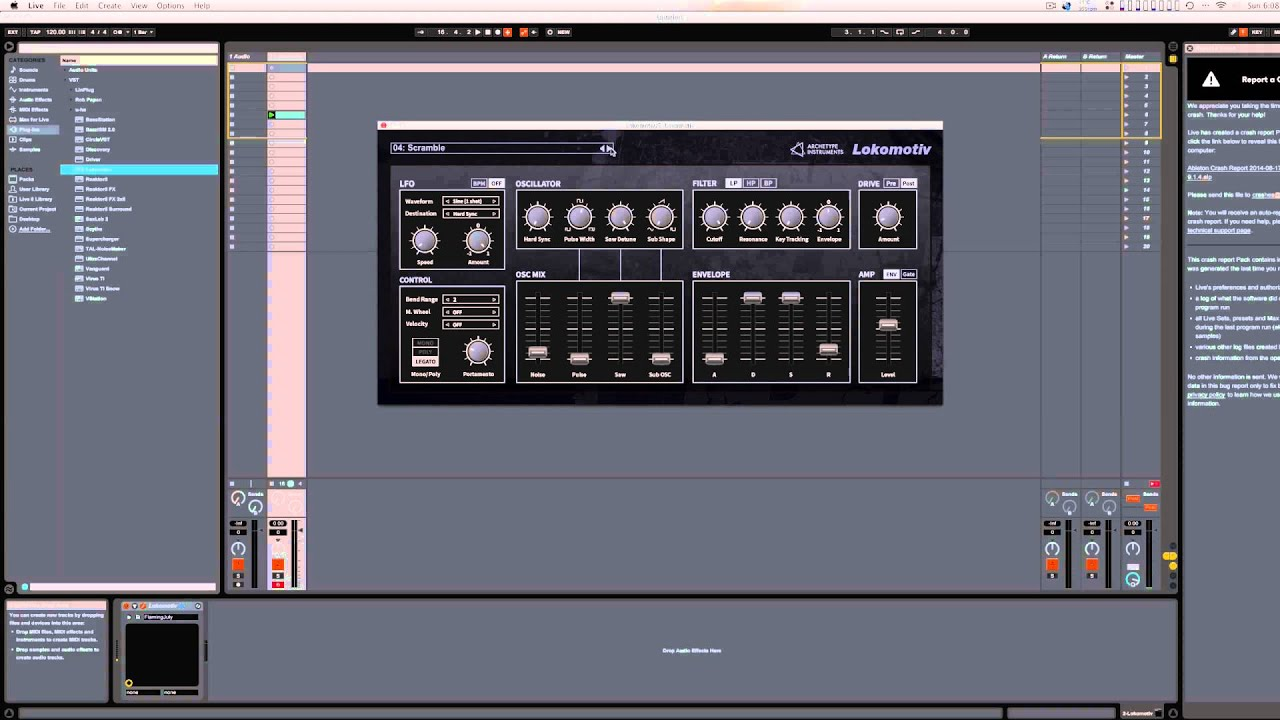Free Synth, Lokomotiv, For Mac