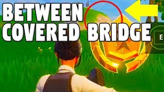 Fortnite Week 10: Search Between Covered Bridge, Waterfall, 9th Green (Season 5 Challenge Locations)