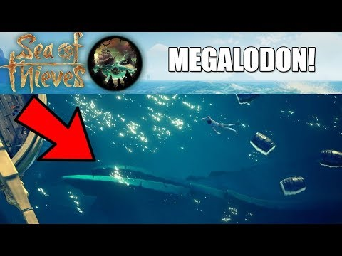 THE MEGALODON IS CONFIRMED! - The Hungering Deep NEW BOSS! - Sea of Thieves update