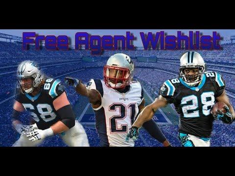 New York Giants 2018 Free Agents Wishlist
