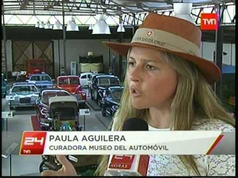 MUSEO DEL AUTOMOVIL EN LOLOL CHILE CUENTA CON MAS DE 60 AUTOMOVILES 24HORAS TVN20 02 2013