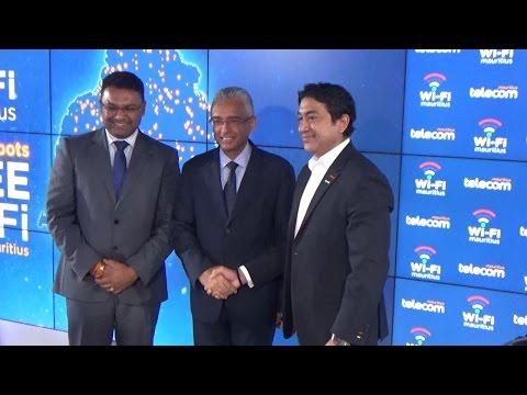 Mauritius Telecom lance 350 bornes Wi-Fi à travers l'île