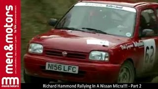 Richard Hammond Rallying In A Nissan Micra!!! - Part 2