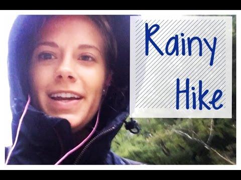 Rainy Hike Vlog #124