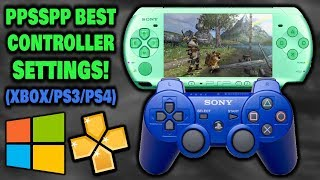 Best Controller Settings For PPSSPP! (XBOX/PS3/PS4)