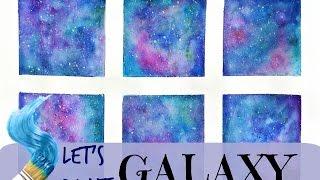 Let's paint Galaxy!/ Как нарисовать космос(We paint galaxy when we miss someone. I will miss you, my dear Ralph. ----- Мы рисуем космос, когда скучаем по ком-то. Я буду скучать по тебе,..., 2016-05-08T07:11:38.000Z)