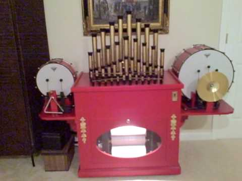 Automated Music Player O-Roll Calliope