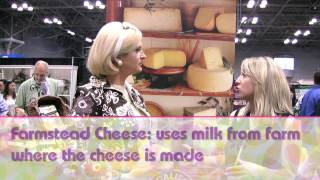 The Maxwell Moment: Cheese Trends: The Fancy Food Show 2013