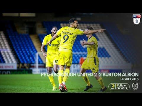 Peterborough Burton Goals And Highlights