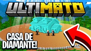 ME MUDEI PRA NOVA CASA DE DIAMANTE !  - MINECRAFT ULTIMATO #14