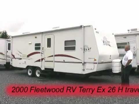 2000 Fleetwood RV Terry EX 26 H travel trailer -- 26959A