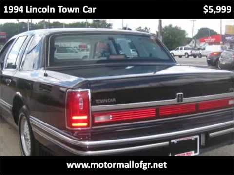 1994 lincoln town car available from used car motor mall for Grand rapids motor car