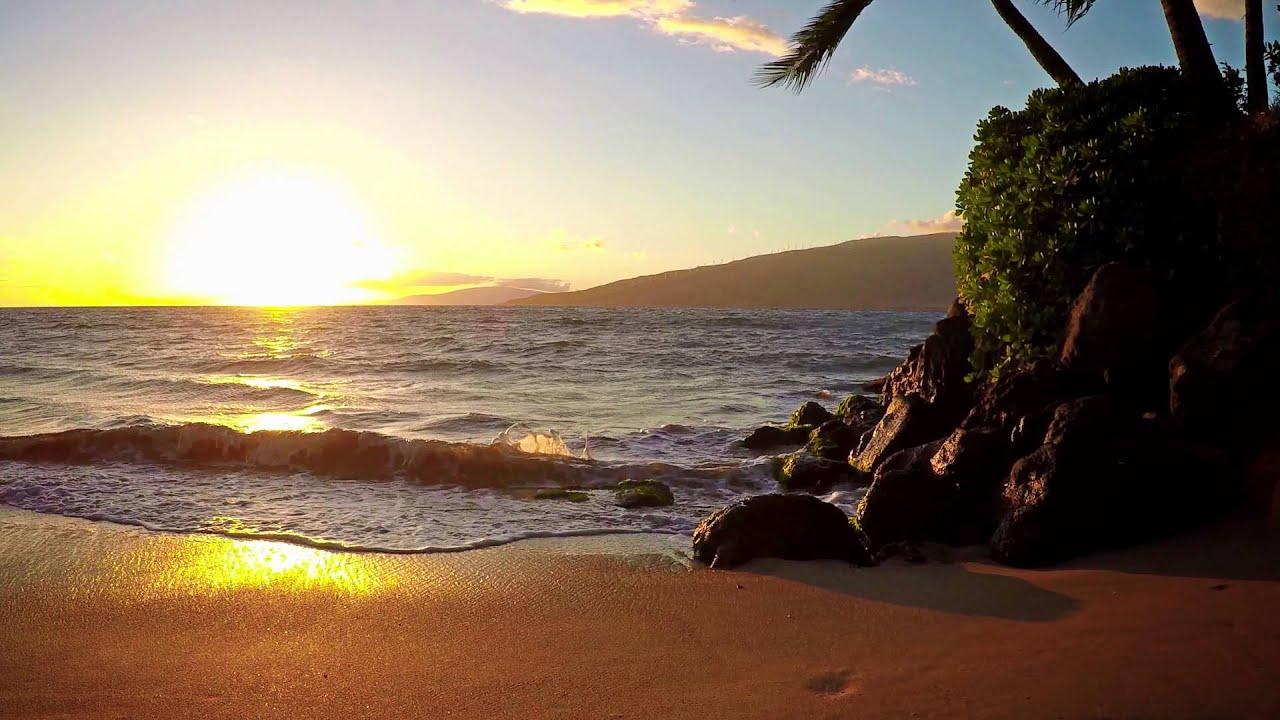 4K Hawaii Sunset | GoPro Hero 4 Black 4k@30fps - YouTube