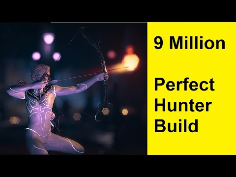 Assassins Creed Odyssey - 9 Million Perfect Hunter Build - 100% Crit - Best Engravings