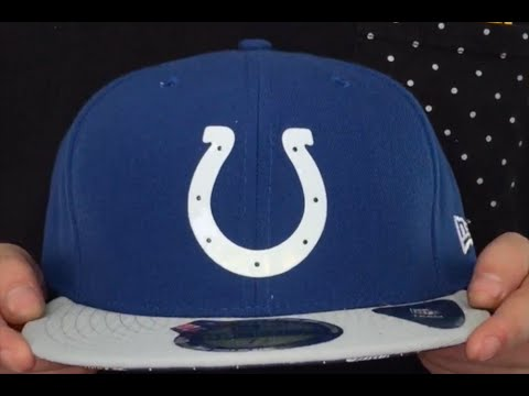 Colts  2015 NFL DRAFT  Royal-Grey Fitted Hat by New Era - YouTube d93e9caef