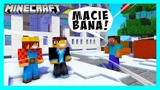 GROŻĄ NAM BANEM W MURDER MYSTERY! /w BoBiX   Minecraft Vertez