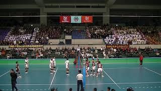 第71回春の高校バレー愛知県大会決勝 名電対星城