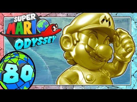 SUPER MARIO ODYSSEY Part 80: Gold-Mario geht dem Seeland auf den Grund