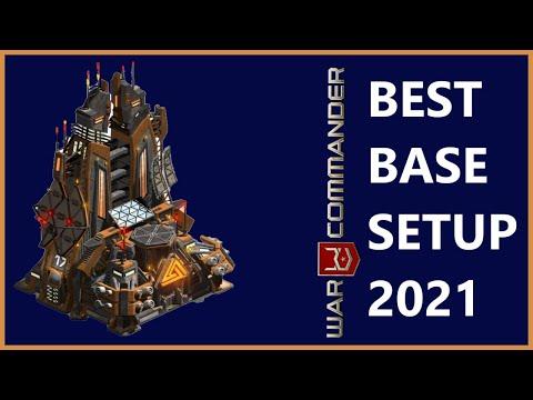 BEST BASE SETUP 2018 ( ANTI AIR ) . WAR COMMANDER