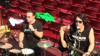 KISS - Beth - Acoustic Set - Arena Verona (Italy) June 11th 2015
