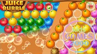 Shoot Bubble - Fruit Splash @kids games 2000 screenshot 3